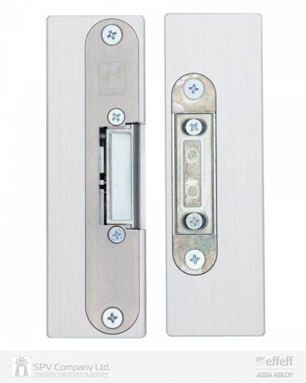 Фото 7 - Защелка электромеханическая EFF EFF 9314VGL 10 -E31 (12V DC Ee UNIV 10мм) НЗ для стеклянных дверей.