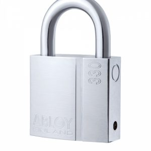 Фото 9 - Замок навесной ABLOY PL330 SENTRY BA66EE 2KEY STR B NR shackle 25мм 8мм BOX.