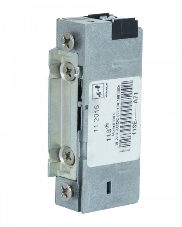 Фото 8 - Защелка электромеханическая EFF EFF 118 E    A71 FaFix (W/O SP 10-24V AC/DC) НЗ Е универсальная с узким корпусом.