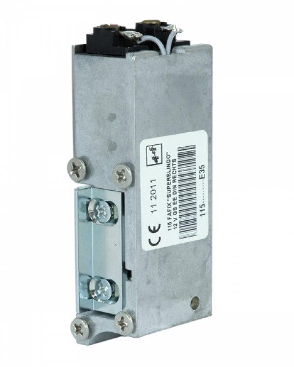 Фото 7 - Защелка электромеханическая EFF EFF 115 -E35 FaFix (W/O SP 12V DC Ee R) НЗ для багатоспрямованих замков MTL.