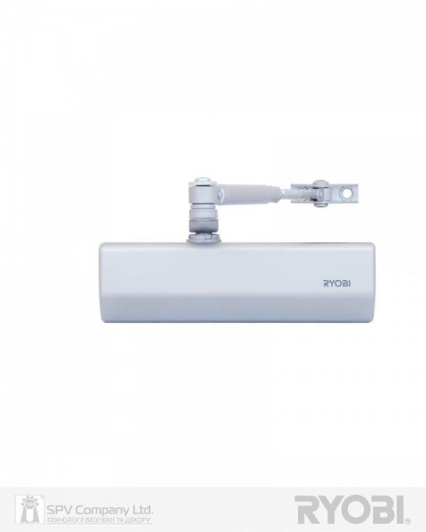Фото 10 - Доводчик накладной RYOBI *1500 D-1554 SILVER STD ARM EN 2/3/4 до 80кг 1100мм FIRE.