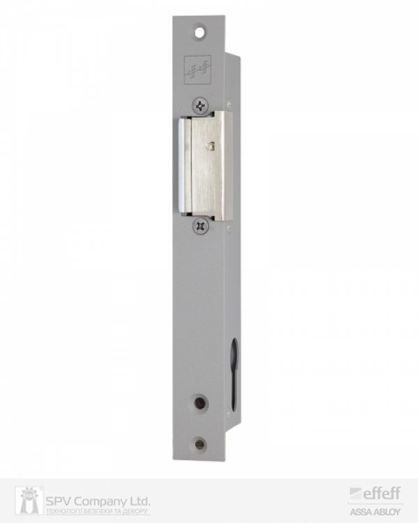 Фото 9 - Защелка электромеханическая EFF EFF 914 ZY12 -02E34 (W/O SP GREY 12V DC Ee L 12мм) НЗ для стеклянных дверей.