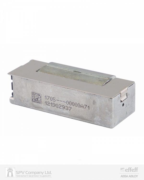 Фото 9 - Защелка электромеханическая EFF EFF SPE71 -A71 FaFix (W/O SP 10-24V AC/DC) НЗ универсальная стандартная с защитным диодом.