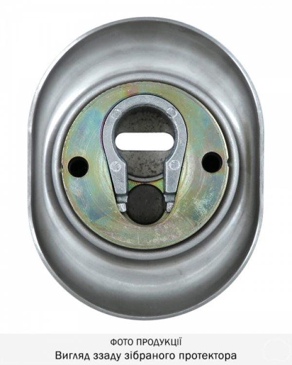 Фото 9 - Протектор DISEC DIAMOND BKD250 DIN OVAL 25мм Нерж.сталь мат 4клас IT Внешний.