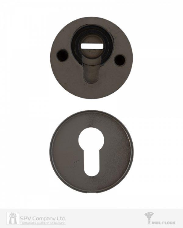 Фото 2 - Протектор MUL-T-LOCK SL3 DIN ROUND 14,5 мм 40-89мм Бронза антична 3клас ANTIQUE BRASS Комплект, М6х100.