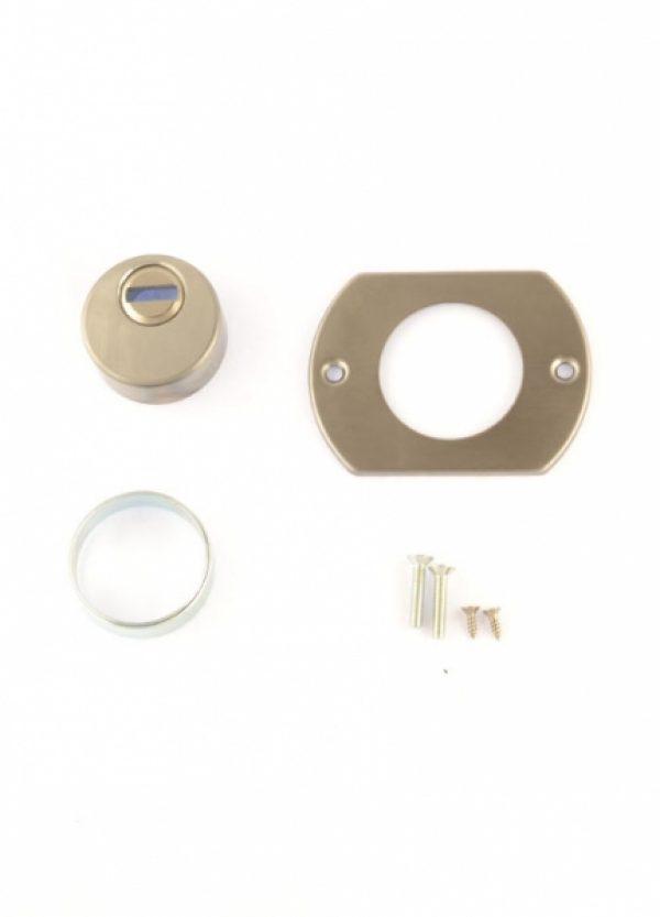 Фото 6 - Протектор MUL-T-LOCK EMK00104C DIN от 23мм Хром сатин CR SAT Внутренний.