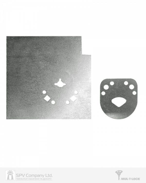 Фото 1 - Пластина MUL-T-LOCK OMEGA защитная дверная WA706-00.