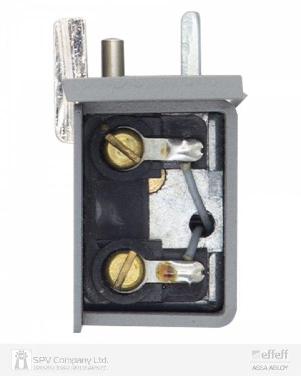 Фото 4 - Защелка электромеханическая EFF EFF 914 ZY12 -02E34 (W/O SP GREY 12V DC Ee L 12мм) НЗ для стеклянных дверей.