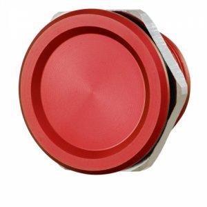 Фото 12 - Кнопка выхода ROSSLARE PX-13R наружная пьезо красная.