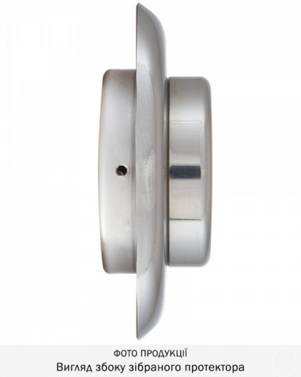 Фото 13 - Протектор DISEC MAGNETIC 3G 3G2FM DIN OVAL 25мм Хром полірований 3клас C 5KEY KM0P3G Внешний.