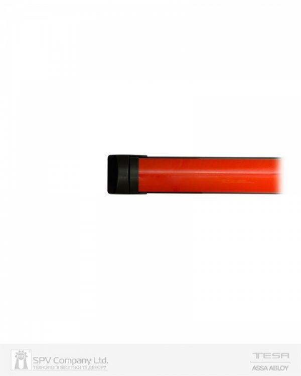 Фото 6 - Замок TESA для эвакуационного выхода накладной QUICK1S NR N: black (RAL 9005)/R: red (RAL 3000) 1 Locking 900мм 8мм.