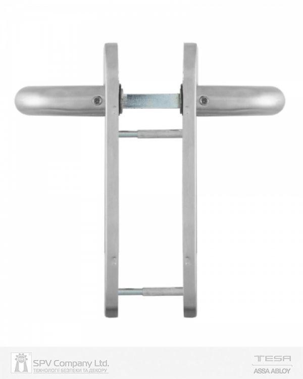 Фото 6 - Набор фурнитуры ISEO 032412 (72мм MUV-MUV CYL HOLE) I I: stainless steel 9мм.