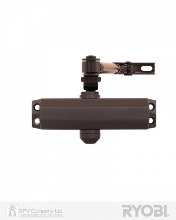 Фото 1 - Доводчик накладной RYOBI *9900 9903 DARK BRONZE STD ARM EN 2/3 до 65кг 965мм.
