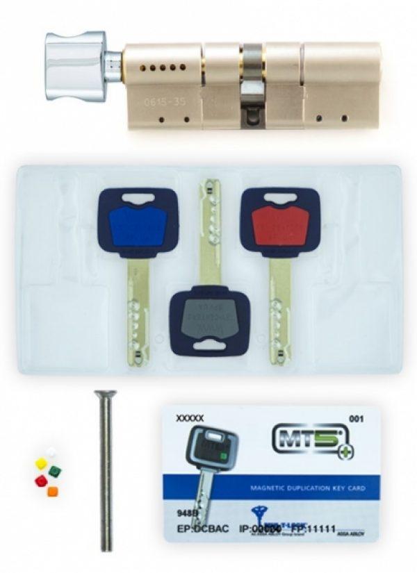 Фото 3 - Цилиндр MUL-T-LOCK DIN_MOD_KT *MT5+ 105 NST 40x65T TO_NC CAM30 3KEY DND5I_BLUE_INS 948B BOX_S.