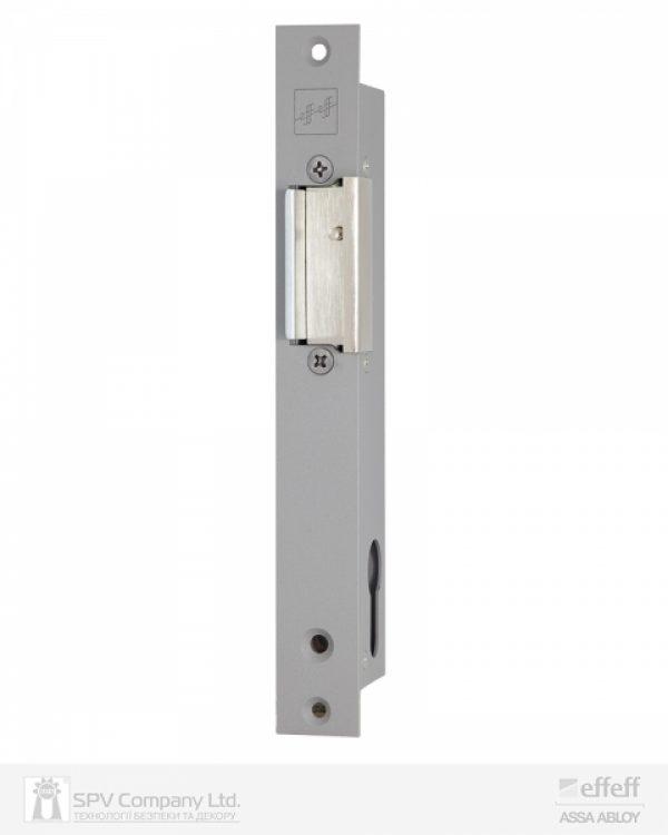 Фото 1 - Защелка электромеханическая EFF EFF 914 ZY12 -02E34 (W/O SP GREY 12V DC Ee L 12мм) НЗ для стеклянных дверей.
