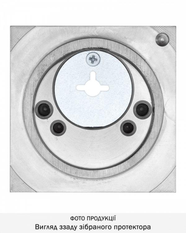 Фото 8 - Протектор DISEC MONOLITO BD108 OMEGA SQUARE 22мм Нерж.сталь мат 3клас IT Внешний.