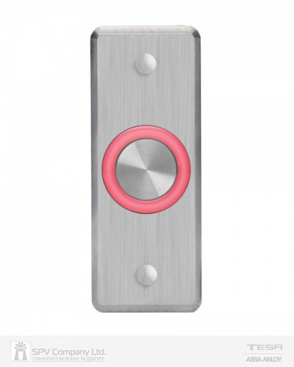 Фото 3 - Кнопка выхода ROSSLARE EX-1600 наружная пьезо нержавеющая сталь.