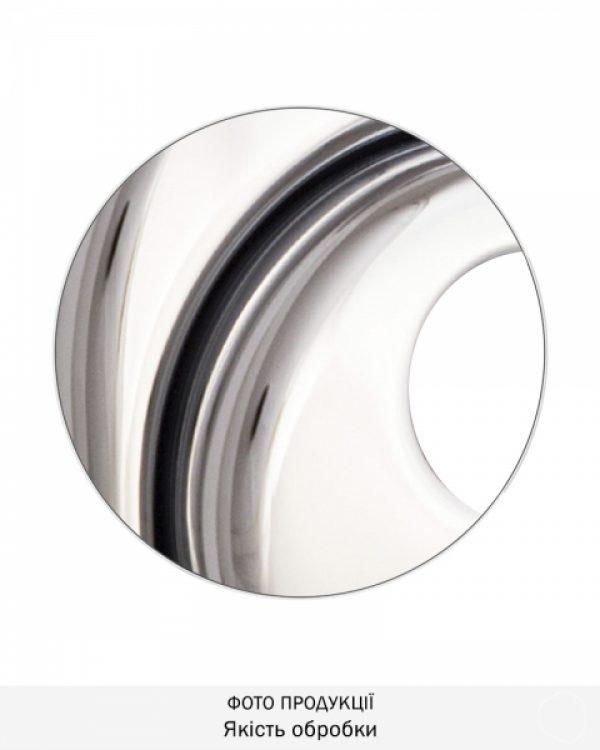 Фото 9 - Протектор DISEC CONTRO CD2000 DIN OVAL 21мм Хром полірований 3клас C Внутренний, не регулируемый.