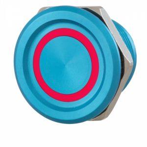Фото 15 - Кнопка выхода ROSSLARE PX-33L наружная пьезо синяя.