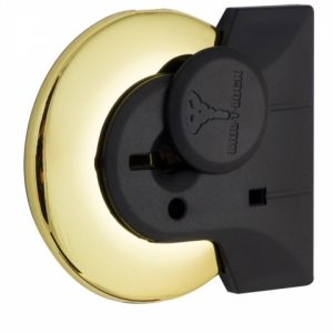 Фото 22 - Щиток MUL-T-LOCK A732 MATRIX ROUND Латунь PVD BRIGHT BRASS PVD СО шторкой.