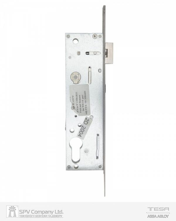 Фото 5 - Замок TESA врезной для активной створки 2240BA (BS35 85мм Zinc) 8мм RIGHT открывание наружу, для профильных дверей, PANIC FUNCTION.