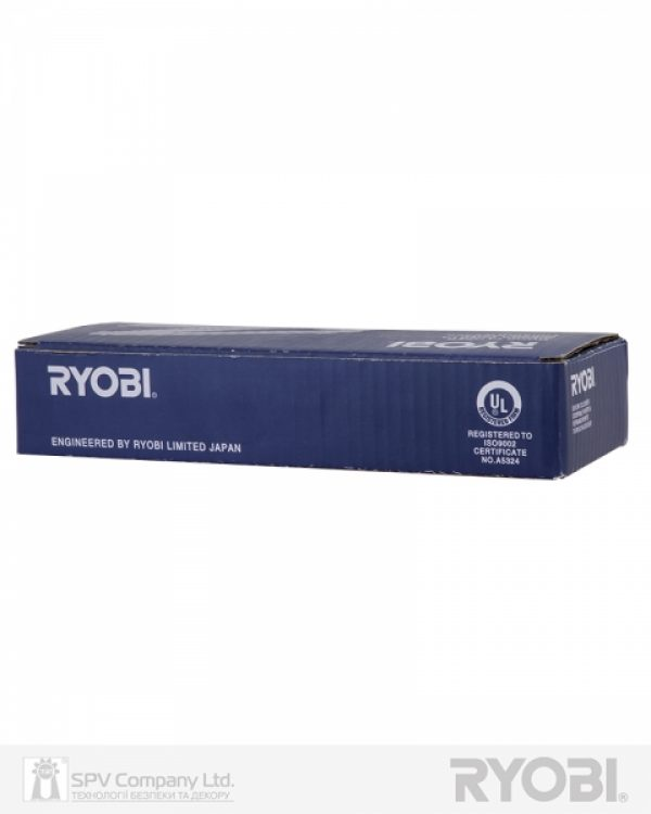 Фото 4 - Доводчик накладной RYOBI 1200 D-1200 BLACK STD ARM EN 2/3/4 80кг 1100мм.