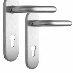 Фото 14 - Набор фурнитуры ISEO 032412 (72мм MUV-MUV CYL HOLE) I I: stainless steel 9мм.
