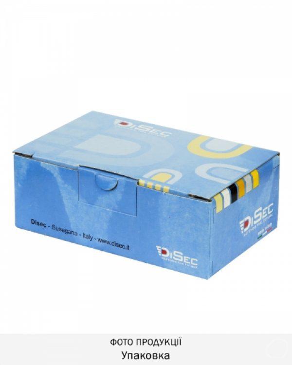 Фото 9 - Протектор DISEC MAGNETIC 3G 3G2FM DIN OVAL 25мм Хром полірований 3клас C 5KEY KM0P3G Внешний.