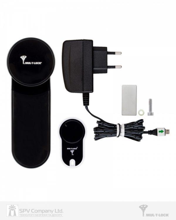 Фото 7 - Электронный контроллер MUL-T-LOCK ENTR черный с пультом дистанционного управления.