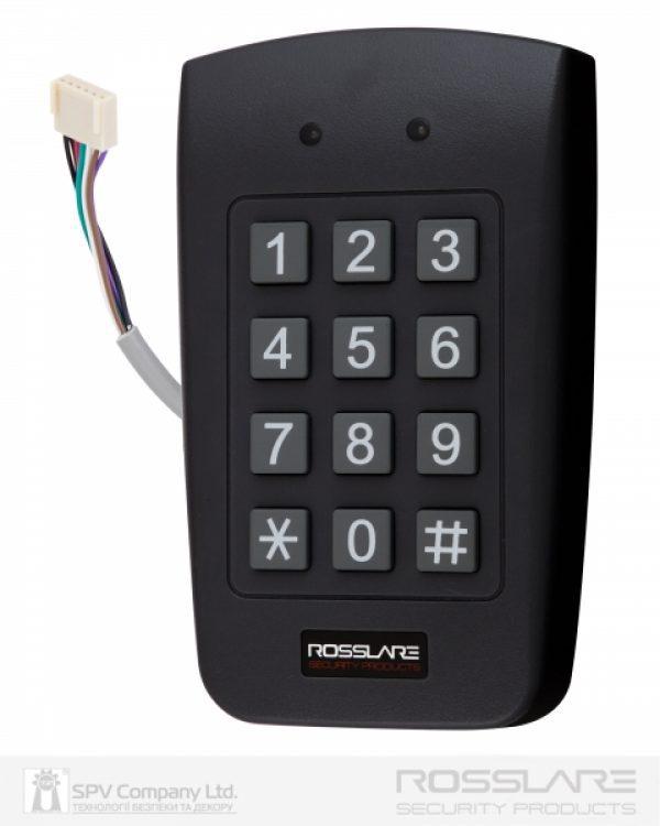 Фото 1 - Электронный контроллер ROSSLARE AYC-F64 автономный повышенной безопасности внешний код+карта EM-MARINE 125Khz.