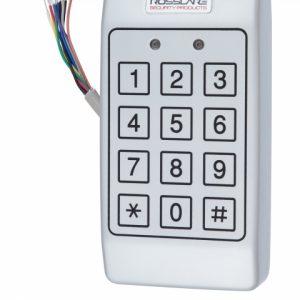 Фото 17 - Электронный контроллер ROSSLARE AC-T43 автономный антивандальный внешний код с пьезо кнопками.