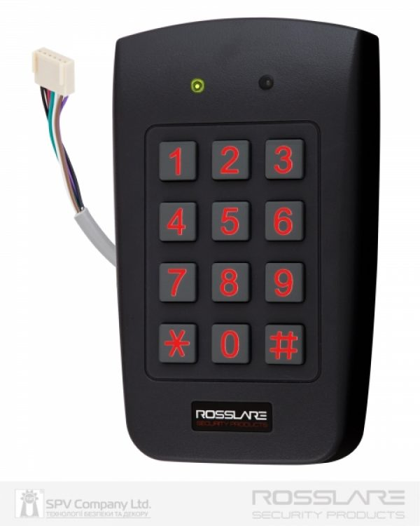 Фото 5 - Электронный контроллер ROSSLARE AYC-F64 автономный повышенной безопасности внешний код+карта EM-MARINE 125Khz.