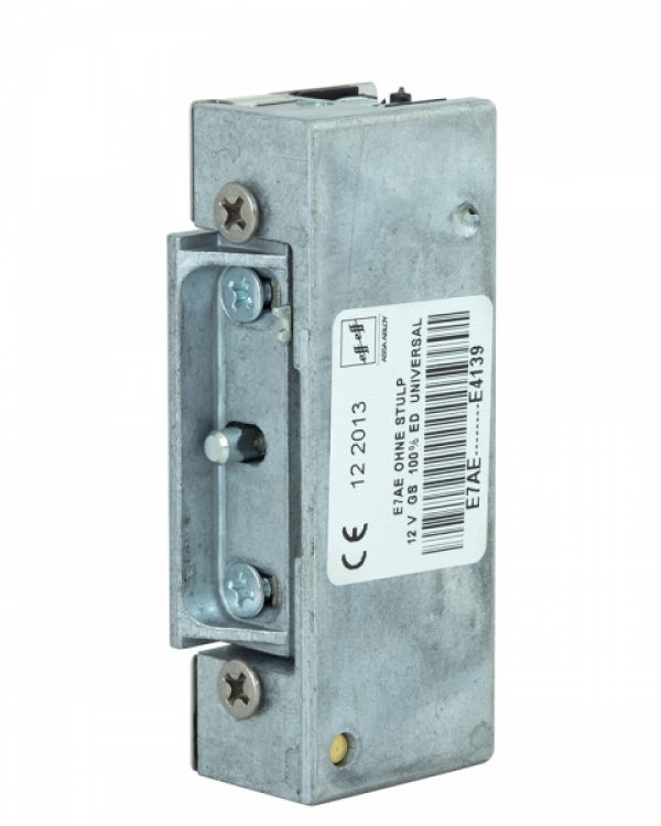Фото 5 - Защелка электромеханическая EFF EFF E7 AE   E4139 FaFix (W/O SP 12V DC 100% ED) НЗ АЕ универсальная стандартная.