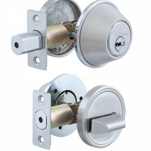 Фото 13 - Замок врезной MUL-T-LOCK 1-WAY DEAD BOLT DBM SATIN NICKEL UNIV ВЅ60мм *ClassicPro VIP CONTROL 2KEY+3KEY DND3D PURPLE INS 4867 SP.