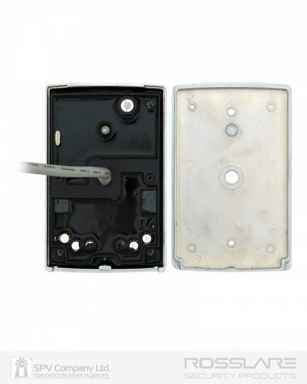 Фото 6 - Электронный контроллер ROSSLARE AC-Q42SB автономный антивандальный внешний код+карта EM-MARINE 125Khz с подсветкой.