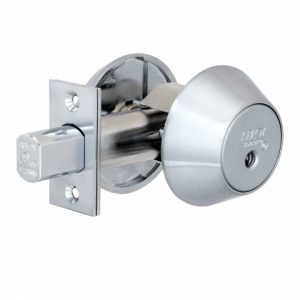 Фото 27 - Замок врезной ABLOY 1-WAY DEAD BOLT ME153 SATIN CHROME UNIV BS60/70мм *PROTEC2 3KEY PR2 T TA77ZZ wood door SP.