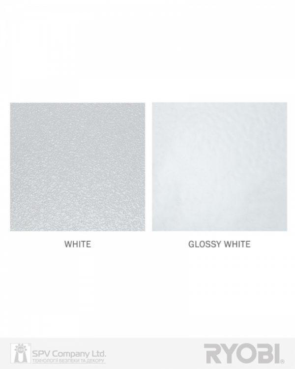 Фото 3 - Доводчик накладной RYOBI *9900 9903 GLOSSY WHITE STD ARM EN 2/3 до 65кг 965мм.