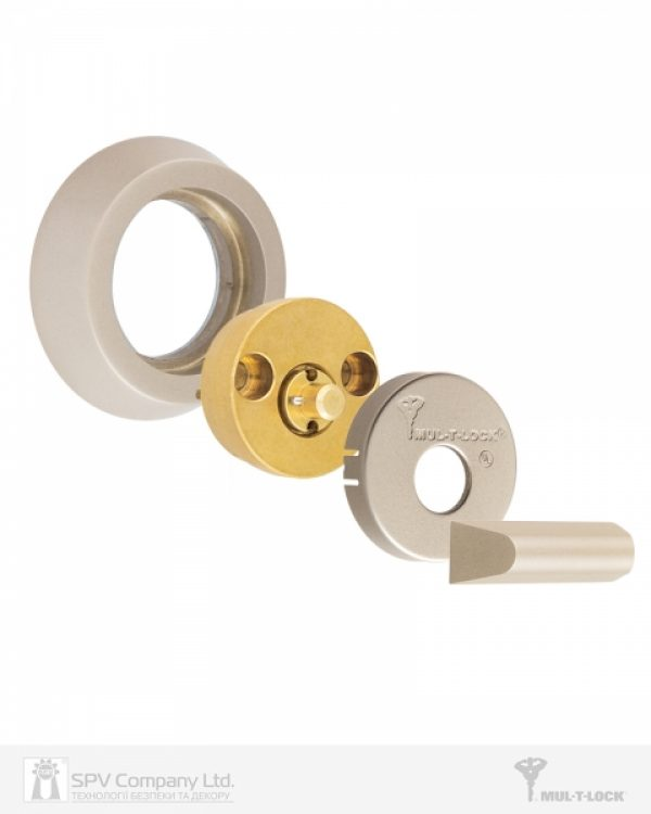Фото 6 - Замок врезной MUL-T-LOCK 1-WAY DEAD BOLT HERCULAR SATIN NICKEL UNIV BS60/70мм *MT5+ 3KEY DND5I BLUE INS 948B metal door SP.