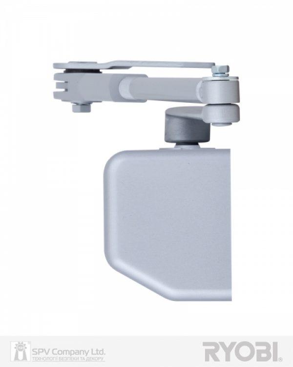 Фото 3 - Доводчик накладной RYOBI 3550 DS-3550P SILVER BC/DA PRL HO ARM EN 2-5 до 100кг 1250мм.