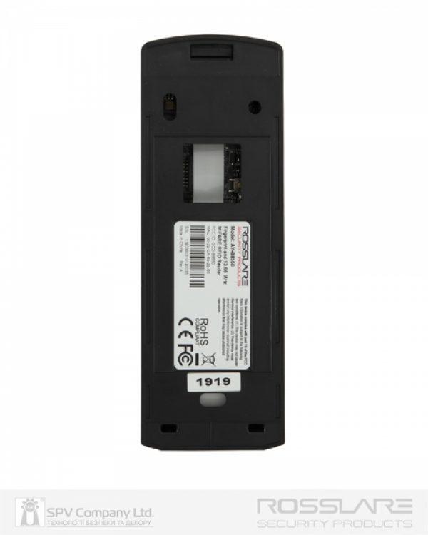 Фото 8 - Электронный считыватель ROSSLARE AY-B8550 внутренний карта+отпечаток пальца MIFARE 13.56Mhz.
