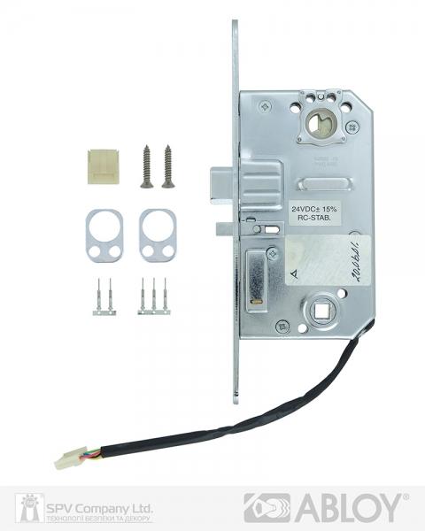 Фото 7 - Замок електромеханічний ABLOY 8180 BS50мм   FP22 RS L SCAND SOL 24V NC PANIC FUNCTION EI EL580.