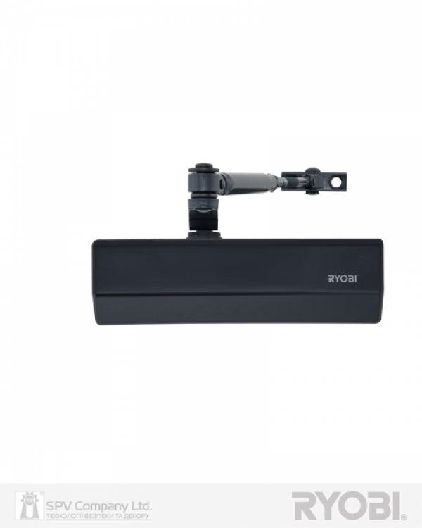 Фото 1 - Доводчик накладной RYOBI 2000 D-2055V GREY ANTHRACITE BC STD ARM EN 3/4/5 до 100кг 1250мм FIRE.