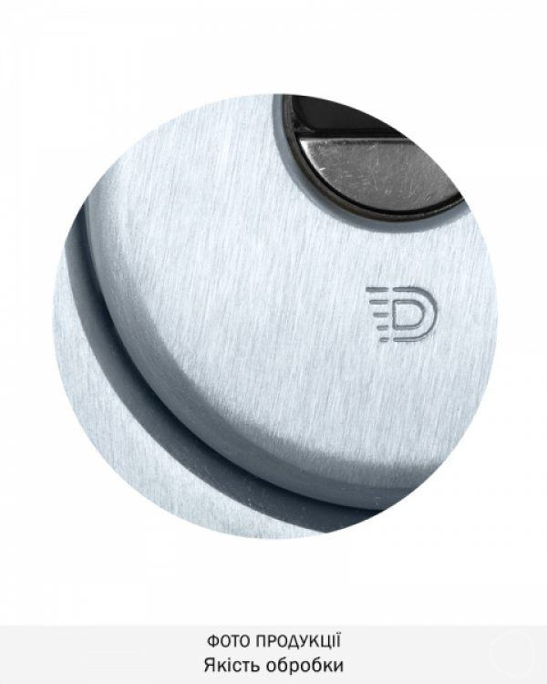 Фото 3 - Протектор DISEC SFERIK BDS16/4 DIN OVAL 25мм Хром мат 3клас T Комплект.