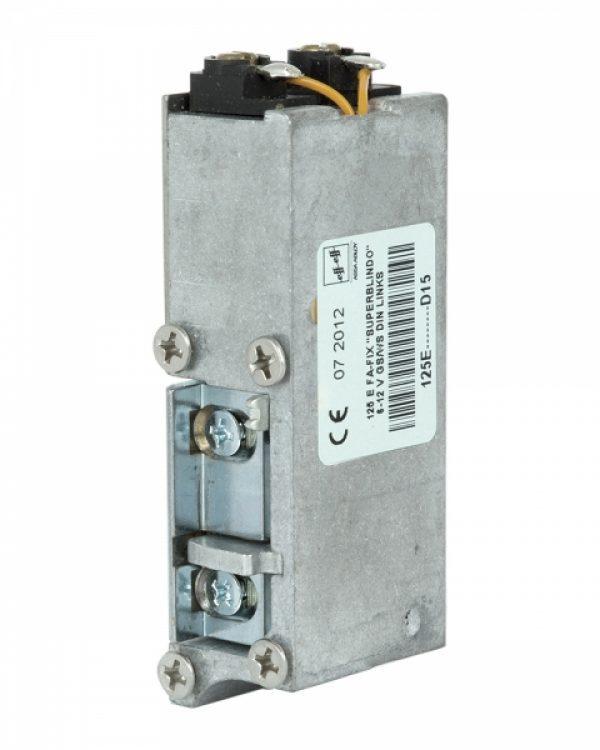 Фото 7 - Защелка электромеханическая EFF EFF 125 E    D15 FaFix (W/O SP 6-12V AC/DC R) НЗ АЕ для багатоспрямованих замков MTL.