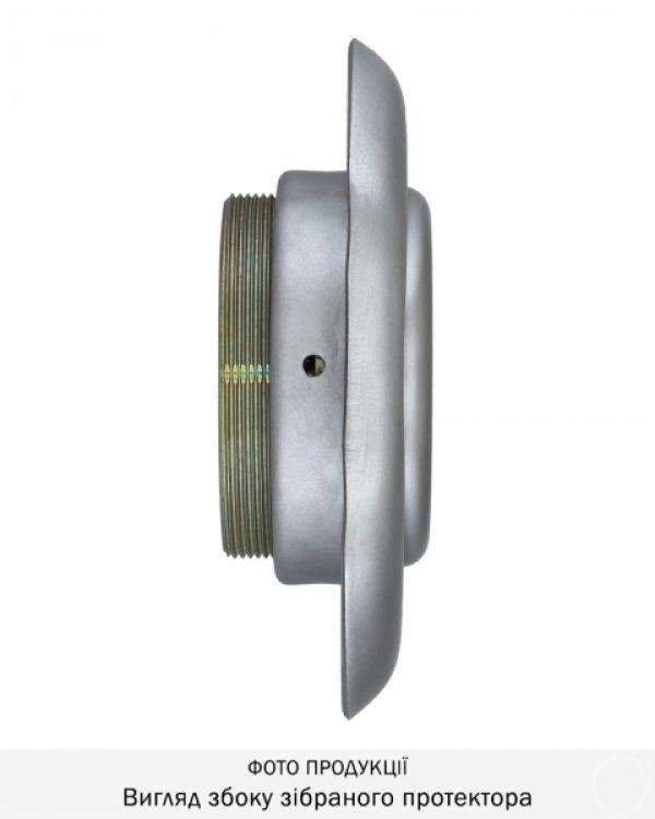 Фото 8 - Протектор DISEC DIAMOND BKD250 DIN OVAL 25мм Нерж.сталь мат 4клас IT Внешний.