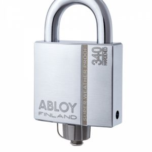 Фото 11 - Замок навесной ABLOY PLM340 SENTRY BA66EE 2KEY STR B NR shackle 25мм 10мм BOX.