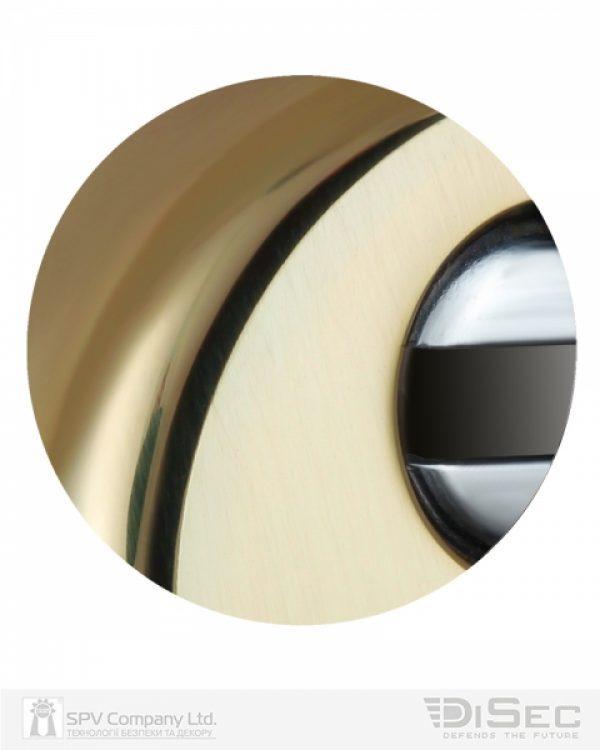 Фото 3 - Протектор DISEC BD54 DIN ROUND 13мм Латунь PVD 3клас 2 Комплект.