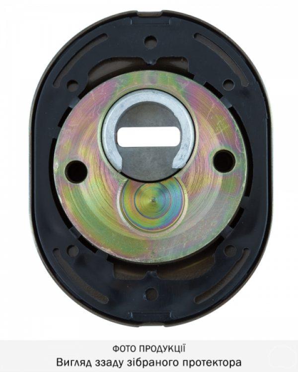 Фото 8 - Протектор DISEC SFERIK BD16/4 DIN OVAL 25мм Бронза сатин 3клас BS Внешний.