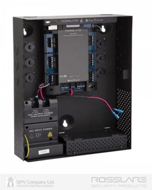 Фото 4 - Электронный контроллер ROSSLARE AC-225IP-BE сетевой внутренний в корпусе, с IP-модулем.