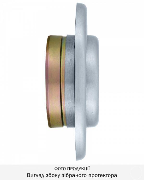 Фото 9 - Протектор DISEC SFERIK BDS16/4 DIN OVAL 25мм Хром мат 3клас T Комплект.